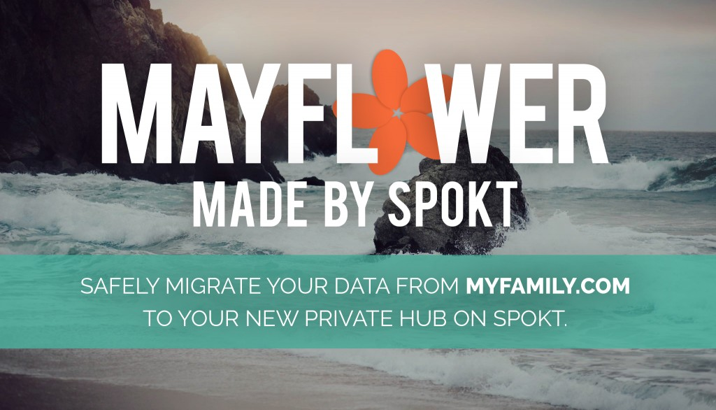 Mayflower - Official MyFamily.com Data Export & Migration Tool